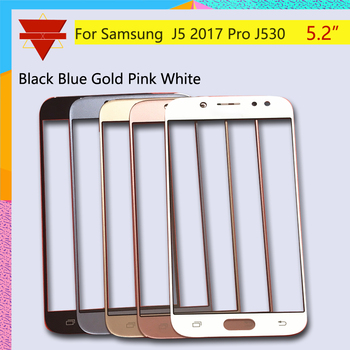 10pcs\lot New J530 For Samsung Galaxy J5 Pro 2015 J530 Touch Screen Front Glass Panel TouchScreen LCD Outer Lens J5 Pro image