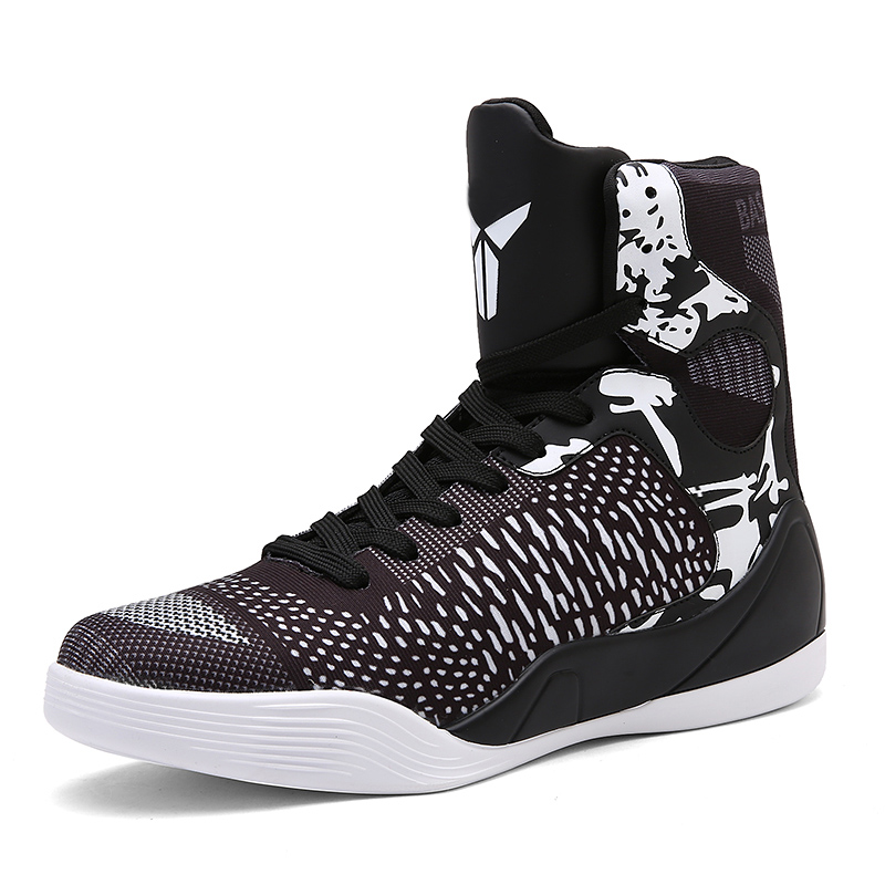 c4a613a5f99 Sycatree Men's Basketball Shoes High Top Ankle Boots Sneakers Lebron ...