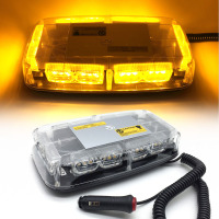 36LEDs Super Bright Car Roof Warning Light Dome LED Flashing Strobe Emergency Vehicle Police Lights Magnetic Mounted DC 12V
