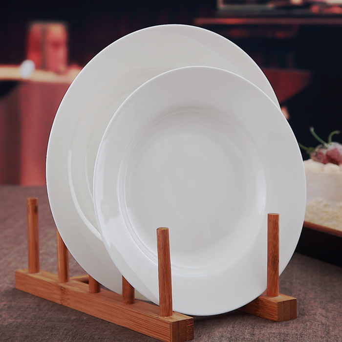 8 inch bone china crystal tray for dinner serve white deep dinner & Online Get Cheap Dish Dinner Plate -Aliexpress.com | Alibaba Group