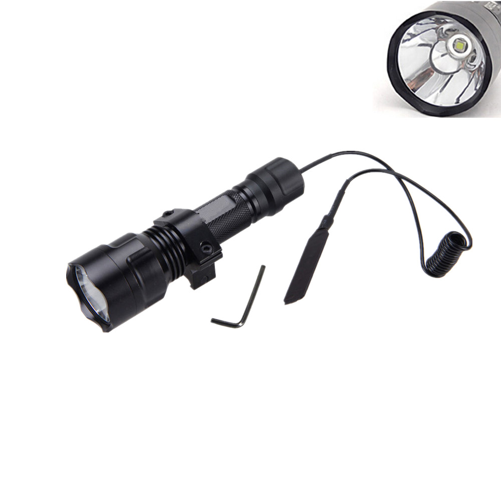 New 2000LM CR-C8 CREE L2 U3 5-mode led Flashlight 18650 lights led tactico light flash tactica linterna lanternas torch