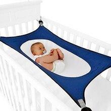 Эластичный детский гамак для сна, садовые качели, помощник для сна для новорожденных, дышащая переносная кровать для кемпинга