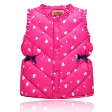 Children's Clothing Autumn Winter Outerwear&Coats for Girls Boys Baby Vest Kids Warm Vest Waistcoat Infant sleeveless Jacket