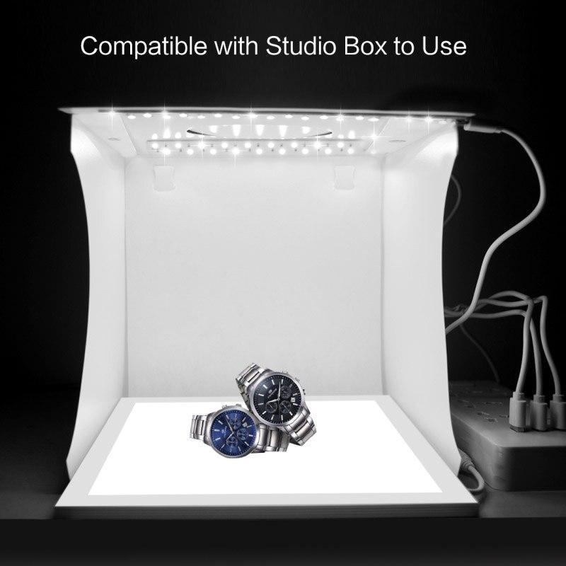 Nouveau panneau de lampe de lumière sans ombre de photographie de LED + ensemble de boîte souple de tente de tir de Studio