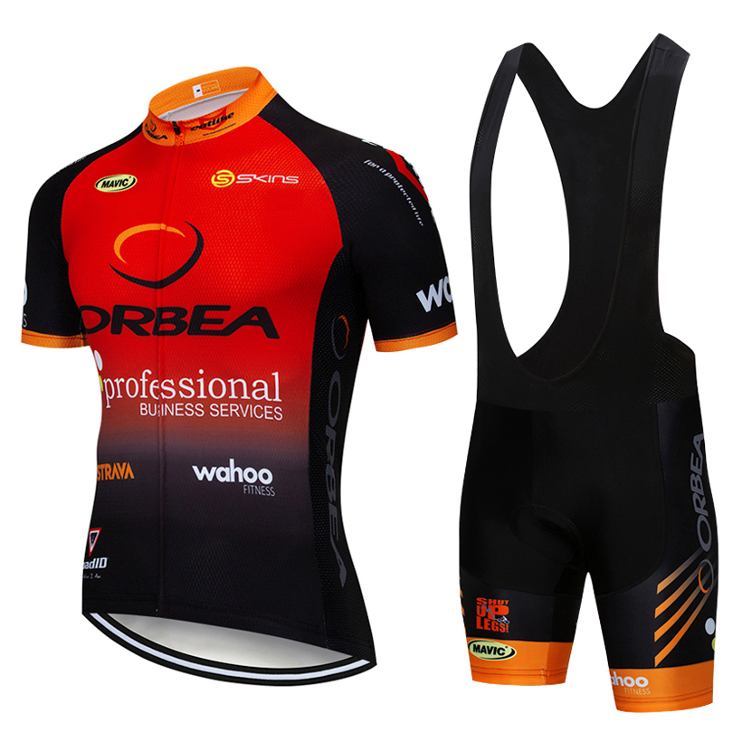2019 TEAM ORBEA Cycling Clothing Bike jersey Ropa Quick Dry Mens Bicycle summer pro Cycling Jerseys 9D gel bike Maillot Culott цена