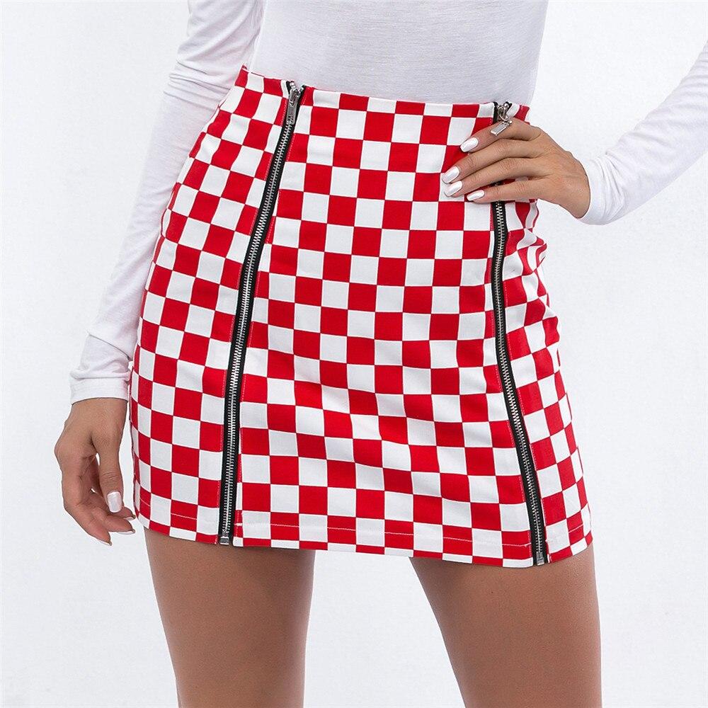e4bc93d07 Falda lápiz faldas por la rodilla Mini Rokjes chicas Streetwear Rokken  verano Spodnice Damskie ...
