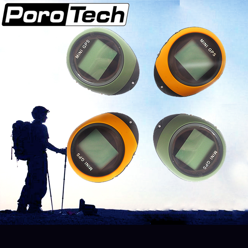PG03 4PCS Handheld Mini GPS Navigation USB Rechargeable Location Tracker with Compass For Outdoor Travel Climbing Universal garmin etrex201x outdoor handheld gps latitude and longitude positioning navigation measurement area instrument
