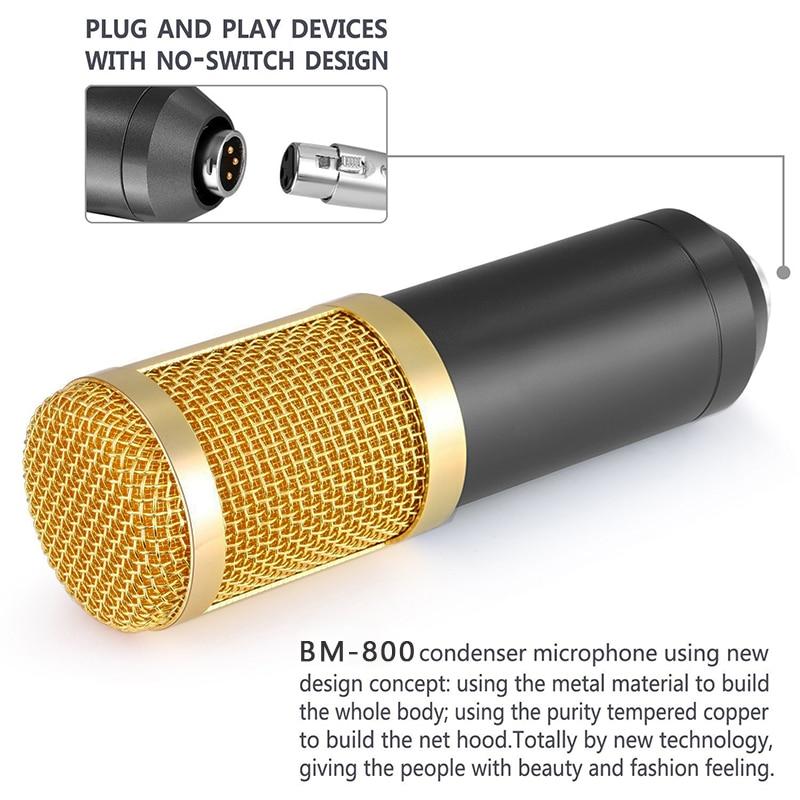 ГЕВО БМ 800 Компјутерски микрофон 3.5мм - Преносни аудио и видео - Фотографија 4