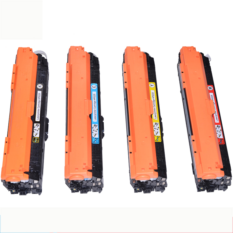 Free shipping LC 307A CE740A CE741A CE742A CE743A Compatible Toner Cartridge for HP Color Laserjet CP5225/CP5225n/CP5225dn hp ce742a 307a yellow тонер картридж для color laserjet cp5225