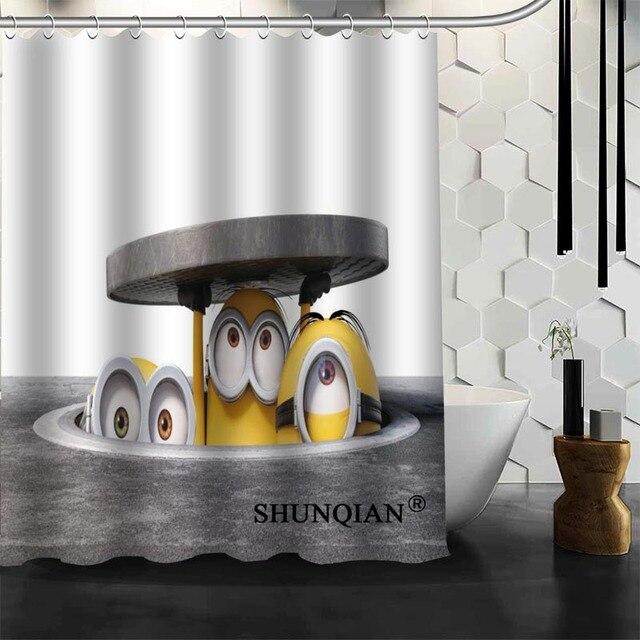 Bad Vorhänge minions Duschvorhang Kundenspezifische Duschvorhang ...