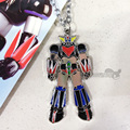 New Anime UFO Robot Grendizer Metal figure doll Necklace keychain keyrings Fashion jewelry pendant for Men women kids Gift