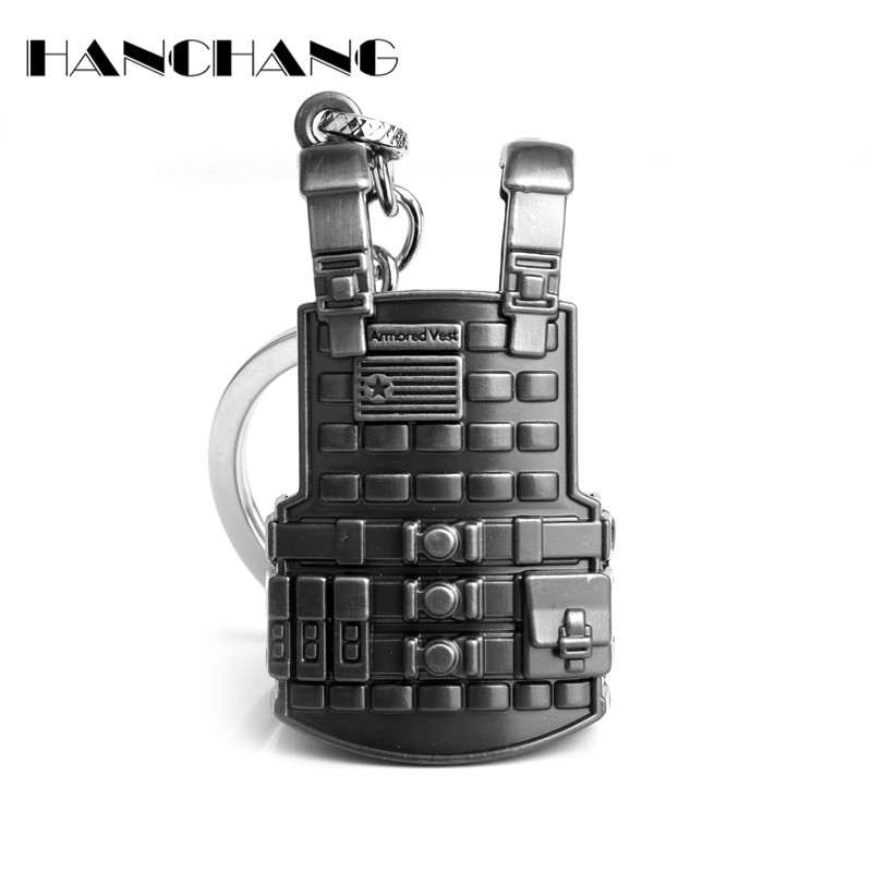 Costumes & Accessories Novelty & Special Use Game Pubg 3 Vest Military Body Armor Model Key Chain Keychain Playerunknowns Battlegrounds Cosplay Props Alloy Level High Safety