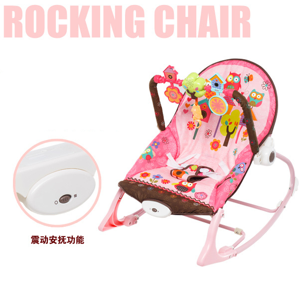 17c24424fbf8 Free shipping multifunctional vibration baby musical rocking chair ...