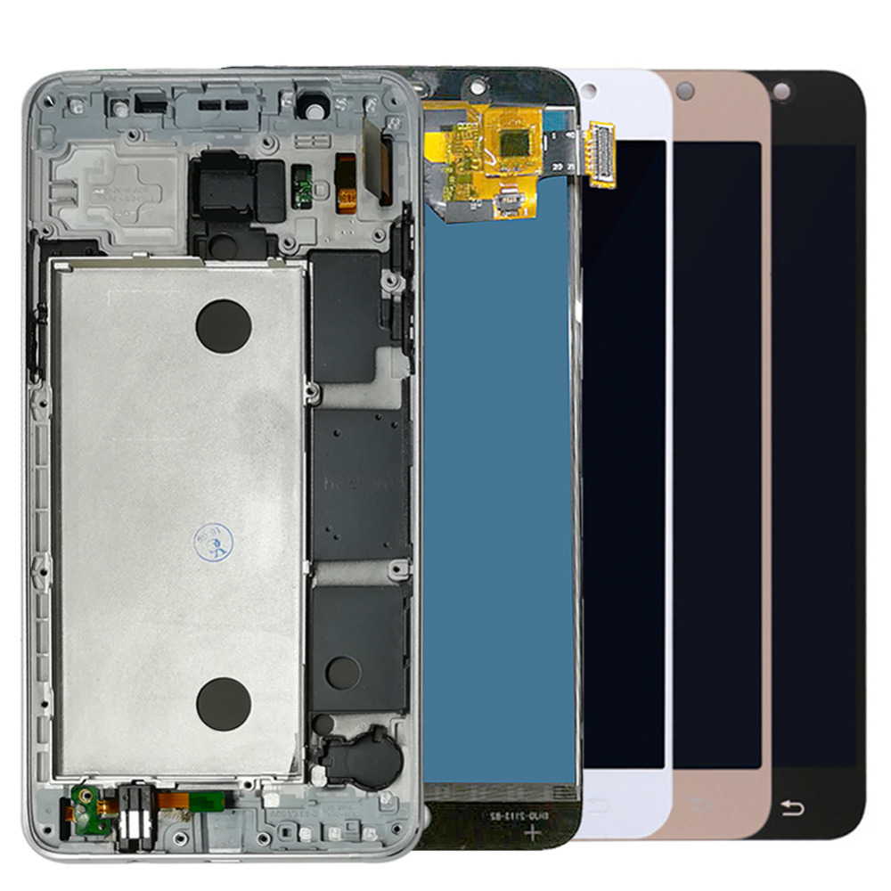 For Samsung Galaxy J5 2016 J510 LCD Display Touch Screen J510FN J510F J510M J510H /DS Screen Adjust Brightness Frame Housing(China)