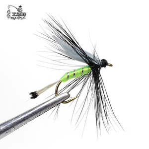 Image 2 - 110 pcs Dry Wet Fly Lures With Fly Waterproof Box Trout Lures Fly Fishing Bait Lure Fishing Tackle