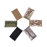 Tela nueva bolsa del recorrido ocultos keychian bolsa pasaporte billetera dinero cintura delgada secreto seguridad útil viaje 015