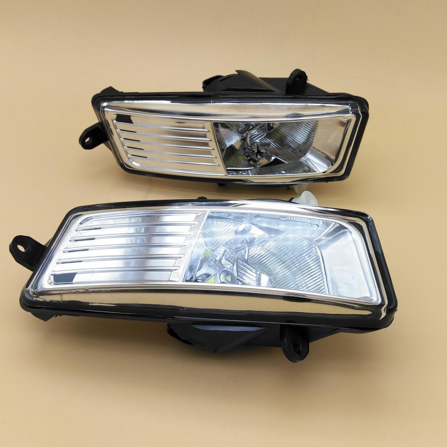 Luz do carro LEVOU Para Audi A6 Avant C6 2009 2010 2011 Carro-Styling Amortecedor Dianteiro LED Nevoeiro Luz de Nevoeiro luz