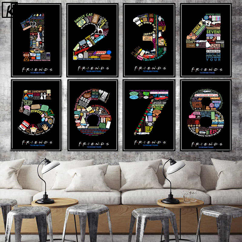 Bar Mordern Number Quote Posters