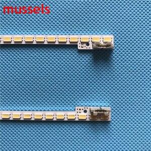 "Image 3 - LED תאורה אחורית רצועת עבור Samsung 46 ""אינץ טלוויזיה 510mm 72 מנורת UA46D5000PR 2011SVS46 5K6K H1B 1CH BN64 01644A 2 יח\חבילה"