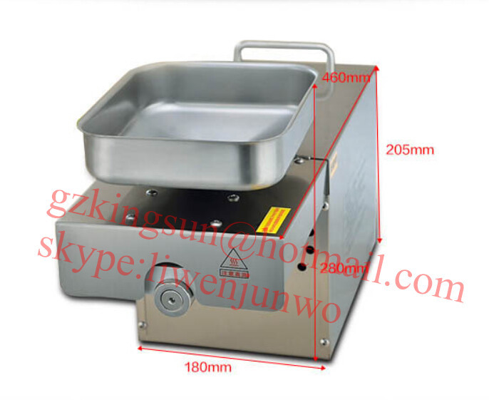 Hot sale cold and hot oil press machine/sunflower seed oil ...