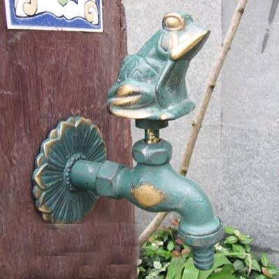 Хорошее Качество настенный 1/2 дюймов резьба 2 цвета 13 моделей латунный сад животное нагрудник кран - Цвет: Бургундия