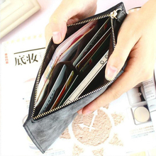 Women's Long Leather Thin Wallets And Card Holder