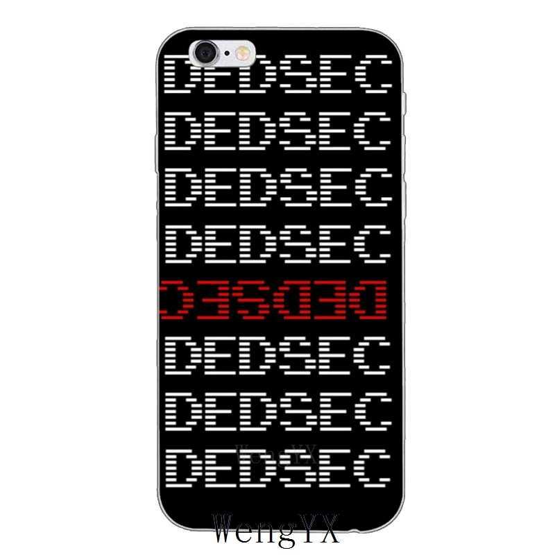 Watch Dogs 2 Dedsec тонкий мягкий силиконовый чехол для телефона для Sony Xperia XA Z Z1 Z2 Z3 Z4 Z5 Премиум компактный мини M2 M4 M5 E3 T3