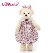 Utsökt palats teddybjörnar plysch leksaker fylld docka leksak för barn flickor gåvor peluch brinquedos juguetes barn leksaker