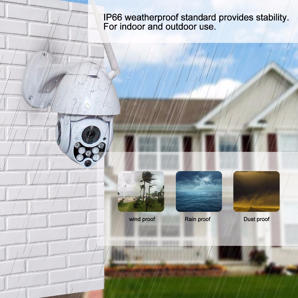 CCTV Yoosee IP Camera PTZ Wifi 2 0MP 1080P Support Onvif P2P SD Card Motion Detector