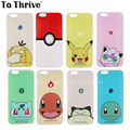 2016 New arrive Fashion PokemonGo  Ultra Thin Soft TPU Phone Case Cover For Apple i Phone iPhone 4 4S 5 5S SE 5C 6 6S 7 plus