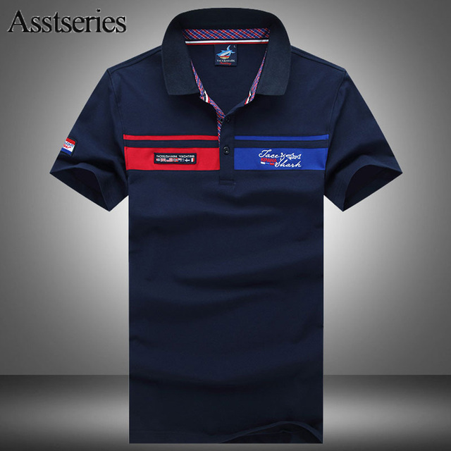 2018 Summer New Fine Design Mens Hot Sale Fashion Embroidery Polo