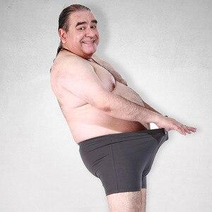 Image 4 - 脂肪下着男性ボクサーショーツファッション通気性竹繊維ふくよかボクサーオムセクシーな潮camouプリントcueca男性下着