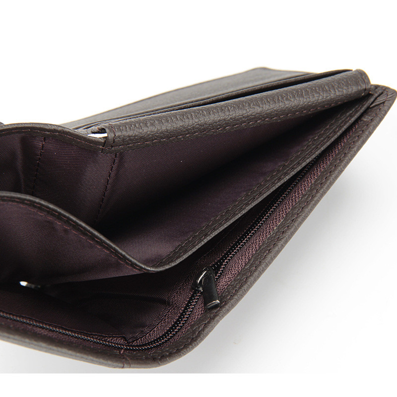baellerry novidade 2017 genuine leather Wallets : Standard Wallets