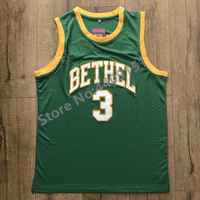 best service fc26e e3415 US $35.0 |2019 New Allen Iverson #3 Throwback Bethel High School Basketball  Jersey Stitched S 2XL-in Basketball Jerseys from Sports & Entertainment on  ...
