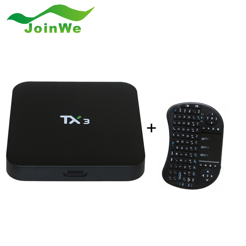 ФОТО TX3 Smart TV Box Android 5.1 1G 8G Amlogic S905 Set top Box IPTV Kodi 16.0 Support DLAN Media Player