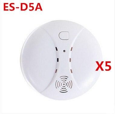 Big discount Wireless Smoke Detector Fire smoke sensor working with Etiger S4 font b alarm b