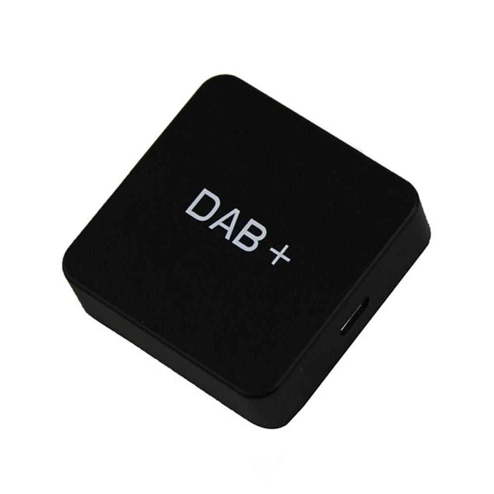 DAB 004 DAB+ Box Digital Radio Antenna Tuner FM Transmission USB Powered for Car Radio Android 5.1 and Above only foy DAB Sign