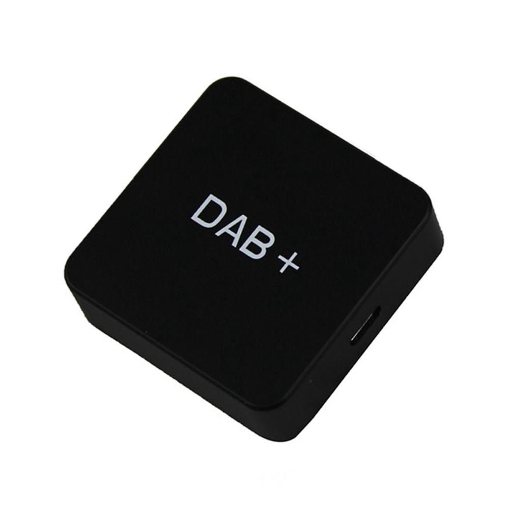 DAB 004 DAB+ Box Digital Radio Antenna Tuner FM Transmission USB Powered for Car Radio Android 5.1 and Above only foy DAB Sign цена 2017