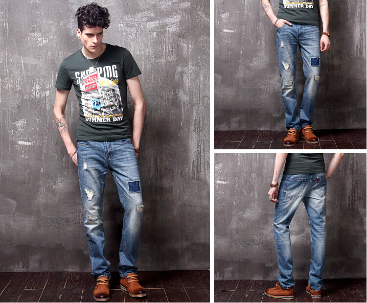 Men In Ripped Jeans - Xtellar Jeans