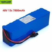Varicore 48 v 7.8ah 13s3p alta potência 18650 mah 7800 bateria de carro elétrico motocicleta diy bms bateria proteção