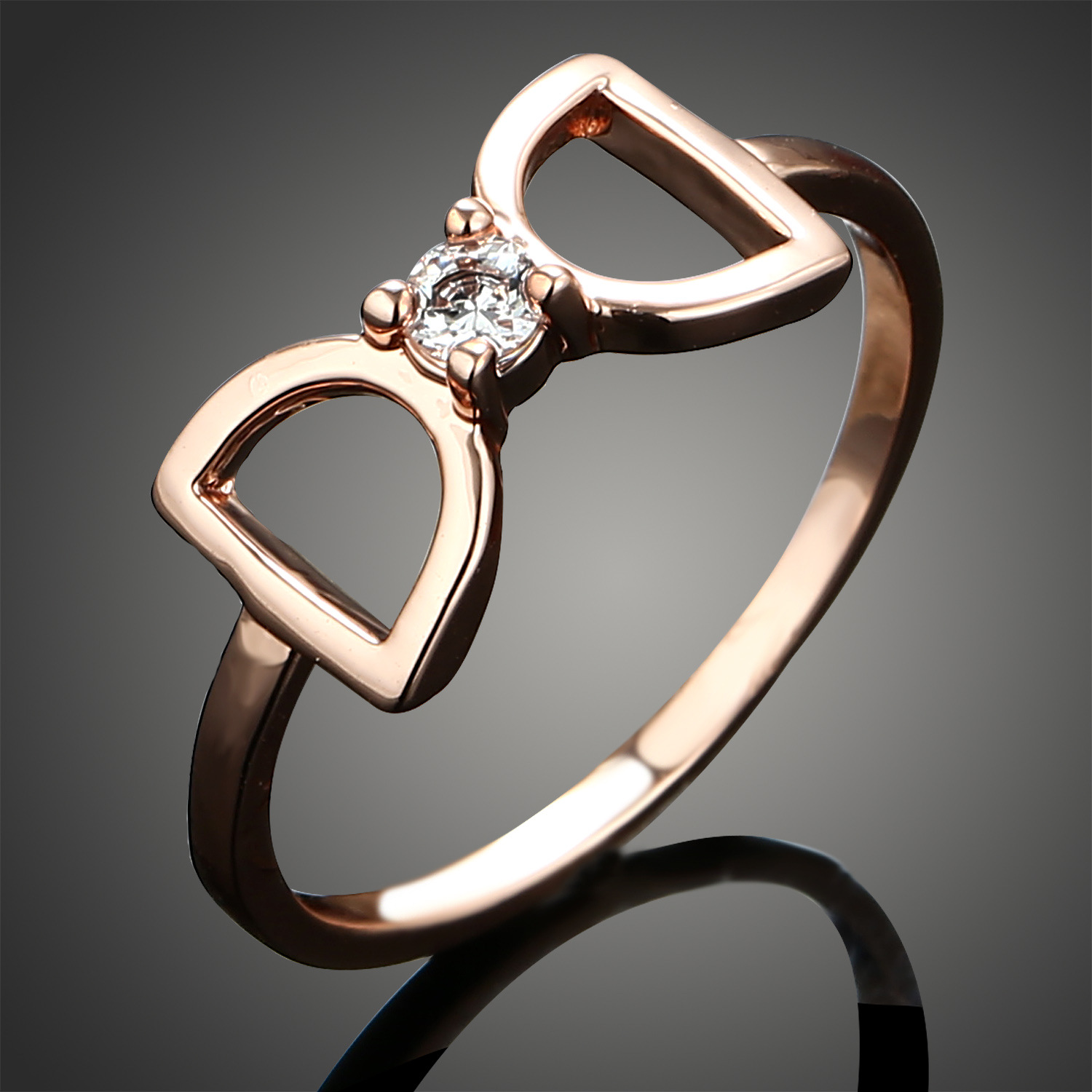 korean gold cherry normal gallery ring mcqueen flowers jewelry rings in lyst alexander two product blossom metallic