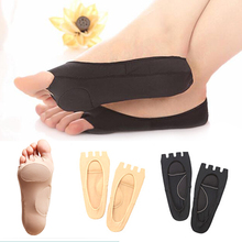 1 Pair Women Cotton Peep-Toe Invisibility Socks Slippers Hot foot care tool foot pad Z3