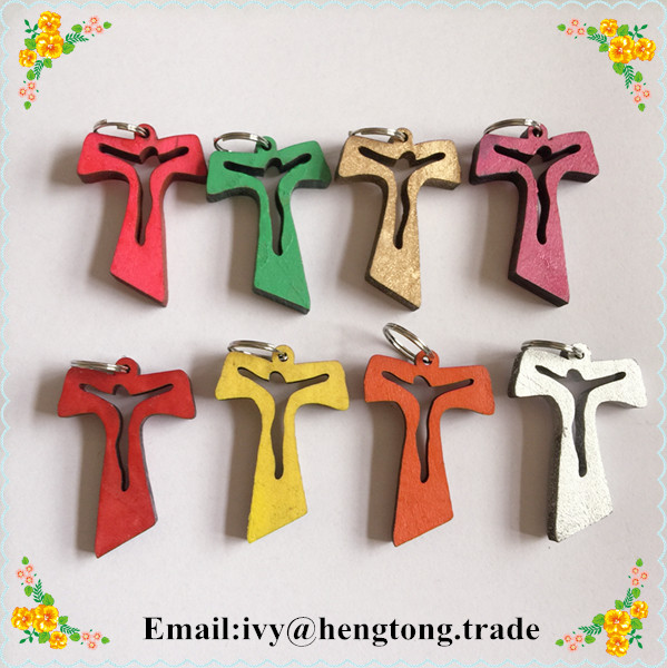Wholesale wood rosary accessory rosary cross pendant for Wooden craft crosses wholesale