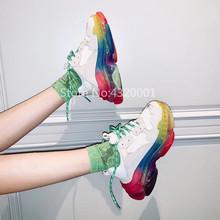 81b3025b52 Buy rainbow sole sneakers and get free shipping on AliExpress.com