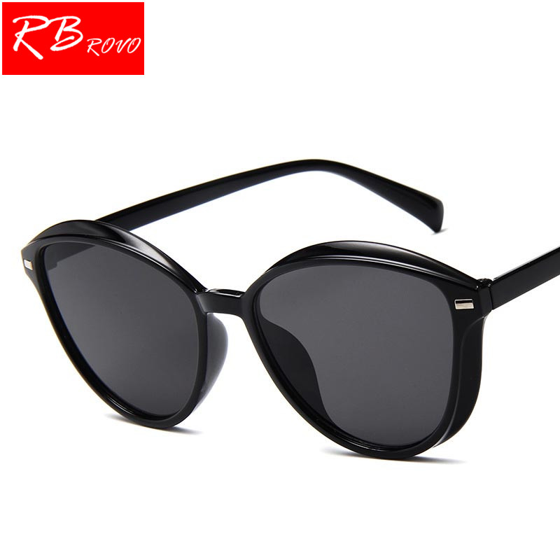 RBROVO 2018 Ocean Round Sunglasses Women Brand Designer Candy Colors Vintage Sun Glasses Outdoor Traveling Shopping Glasses