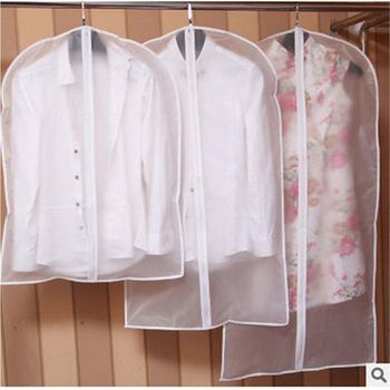Modne ubrania wiszące ubranie ubrania płaszcz wierzchni kurz pokrywa torba do przechowywania do domu etui organizator szafa wiszące odzież tanie i dobre opinie faroot Stałe