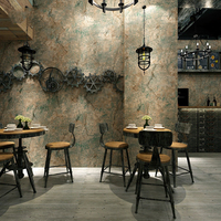 Bacaz Block/Stone/Marble Wallpaper Roll for Office Coffee Room Restaurant 3D Papel Parede Block wall paper Roll Wall covering