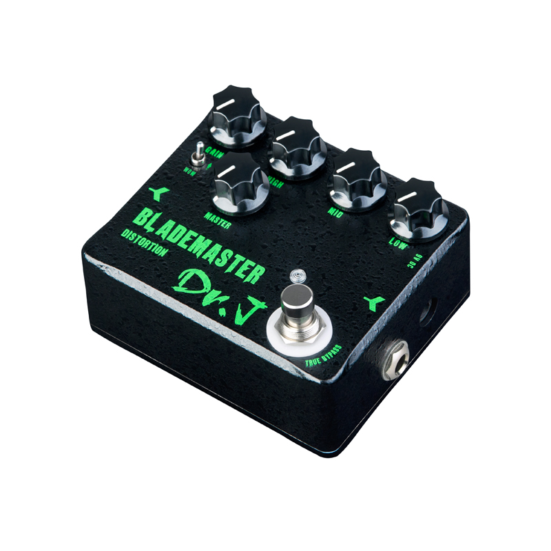 Dr.J D58 Blade Master Guitar Effect Pedal high-gain distorion pedal designed for metal solo True Bypass free shipping new effect pedal mooer solo distortion pedal full metal shell true bypass