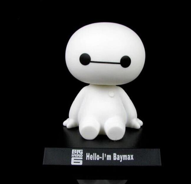 Big Hero 6 Baymax Action Figure White