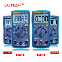 MAIS Backlight Multímetro Digital 6000 Counts AC/DC Amperímetro Voltímetro Ohm Medidor Portátil Medidor de Tensão